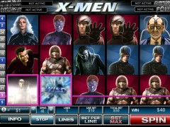 X-Men pokieslots77.com Playtech 4/5