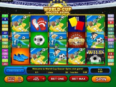 World-Cup Soccer Spins - GamesOS