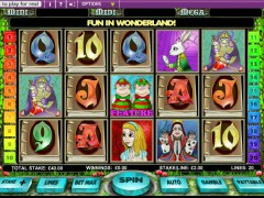 Alice in Wonderland - OpenBet
