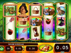 Wizard of Oz Ruby Slippers pokieslots77.com William Hill Interactive 4/5