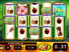 Wizard of Oz Ruby Slippers pokieslots77.com William Hill Interactive 5/5