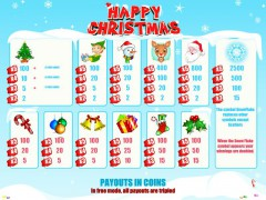 Happy Christmass pokieslots77.com Leander Games 3/5