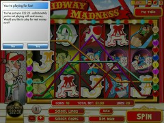 Midway Madness pokieslots77.com Rival 5/5