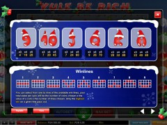 Yule Be Rich pokieslots77.com 1X2gaming 3/5