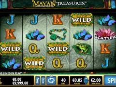 Mayan Treasures pokieslots77.com Bally 1/5