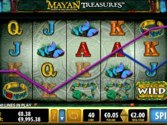 Mayan Treasures pokieslots77.com Bally 3/5