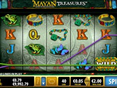 Mayan Treasures pokieslots77.com Bally 4/5