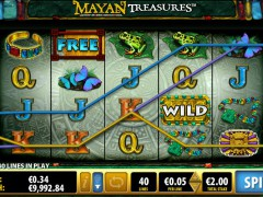 Mayan Treasures pokieslots77.com Bally 5/5