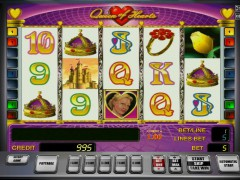Queen of Hearts pokieslots77.com Gaminator 1/5