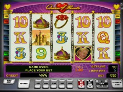 Queen of Hearts pokieslots77.com Gaminator 4/5