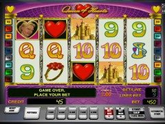 Queen of Hearts pokieslots77.com Gaminator 5/5