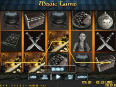 Magic Lamp pokieslots77.com World Match 5/5