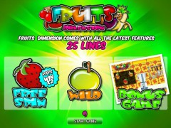 Fruits Dimension pokieslots77.com World Match 1/5