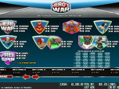 Hero War pokieslots77.com World Match 3/5