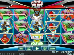 Hero War pokieslots77.com World Match 5/5