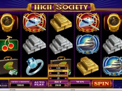 High Society - Microgaming