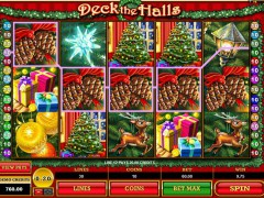 Deck the Halls pokieslots77.com Microgaming 5/5