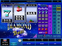 Diamond Deal pokieslots77.com Microgaming 1/5
