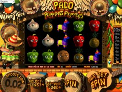 Paco and the Popping Peppers pokieslots77.com Betsoft 2/5