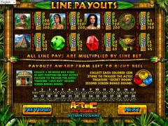 Aztec Treasures pokieslots77.com Betsoft 2/5