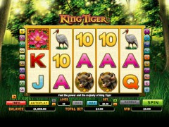 King Tiger pokieslots77.com Microgaming 1/5