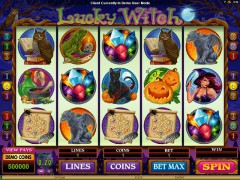 Lucky Witch pokieslots77.com Microgaming 1/5
