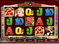 Rhyming Reels - Qeen of Hearts pokieslots77.com Microgaming 1/5