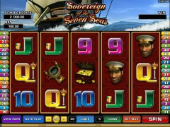 Sovereign Of The Seven Seas pokieslots77.com Microgaming 1/5