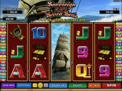 Sovereign Of The Seven Seas pokieslots77.com Microgaming 4/5