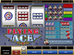 Flying Ace pokieslots77.com Microgaming 1/5