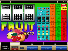Fruit Slots pokieslots77.com Microgaming 1/5