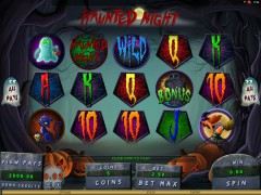 Haunted Night pokieslots77.com Microgaming 1/5
