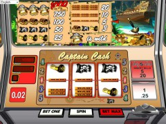 Captain Cash pokieslots77.com Betsoft 3/5
