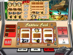 Captain Cash pokieslots77.com Betsoft 4/5