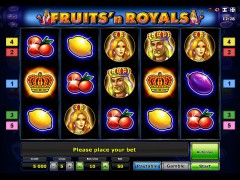 Fruits and Royals - Novomatic
