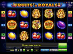 Fruits and Royals pokieslots77.com Novoline 1/5