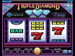Triple Diamond pokieslots77.com IGT Interactive 1/5