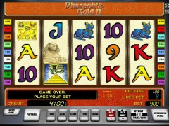 Pharaohs gold II pokieslots77.com Greentube 1/5