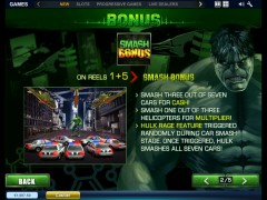 The Incredible Hulk pokieslots77.com Playtech 3/5
