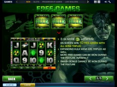 The Incredible Hulk pokieslots77.com Playtech 4/5
