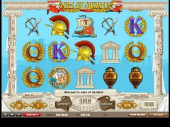 Gods of Olympus - 1X2gaming