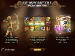 Heavy Metal Warriors - iSoftBet