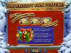 The Naughty List pokieslots77.com RealTimeGaming 4/5