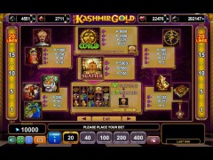 Kashmir Gold pokieslots77.com Euro Games Technology 2/5