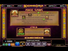 Kashmir Gold pokieslots77.com Euro Games Technology 3/5