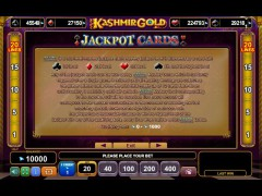 Kashmir Gold pokieslots77.com Euro Games Technology 5/5