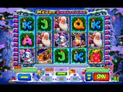 Merry Christmas pokieslots77.com Playson 1/5