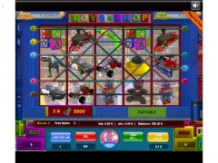 Toy Shop 9 Lines pokieslots77.com Wirex Games 1/5