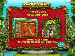 Temple Quest pokieslots77.com Big Time Gaming 1/5