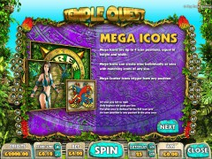 Temple Quest pokieslots77.com Big Time Gaming 4/5